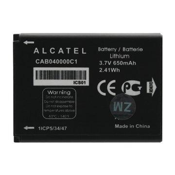 باتری آلکاتل CAB040000C1 ظرفیت 650 میلی آمپر ساعت-1
