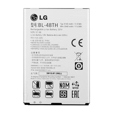 باتری ال جی BL-48TH ظرفیت 3140 میلی آمپر ساعت - 1