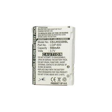 باتری ال جی LGIP600 ظرفیت 550 میلی آمپر ساعت - 1