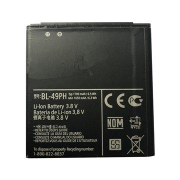 باتری ال جی Optimus LTE Tag مدل BL-49PH ظرفیت 1700 میلی آمپر ساعت - 1