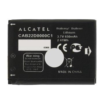 باتری اورجینال آلکاتل CAB22D0000C1 ظرفیت 650 میلی آمپر ساعت-1