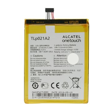 باتری اورجینال آلکاتل Idol 2 S مدل TLp021A2 ظرفیت 2150 میلی آمپر ساعت-1