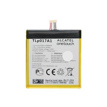 باتری اورجینال آلکاتل TLp017A1 ظرفیت 1700 میلی آمپر ساعت-1