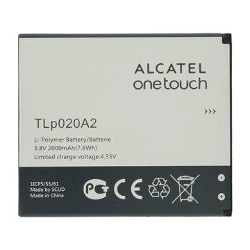 باتری اورجینال آلکاتل TLp020A2 ظرفیت 2000 میلی آمپر ساعت-1