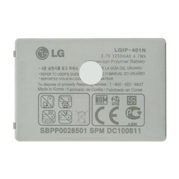 باتری اورجینال ال جی LGIP-401N ظرفیت 1250 میلی آمپر ساعت-1