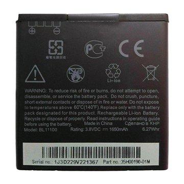باتری اورجینال اچ تی سی BL11100 ظرفیت 1650 میلی آمپر ساعت