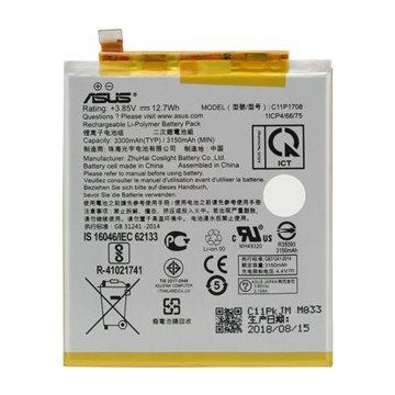 باتری اورجینال ایسوس C11P1708 ظرفیت 3300 میلی آمپر ساعت-1