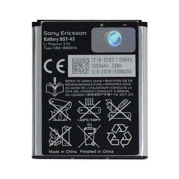 باتری اورجینال سونی اریکسون مدل BST-43 ظرفیت 1000 میلی آمپر ساعت-1