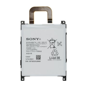 باتری اورجینال سونی اکسپریا Z1s مدل LIS1532ERPC ظرفیت 3000 میلی آمپر ساعت-1