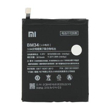 باتری اورجینال شیائومی Mi Note Pro مدل BM34 ظرفیت 3090 میلی آمپر ساعت-1