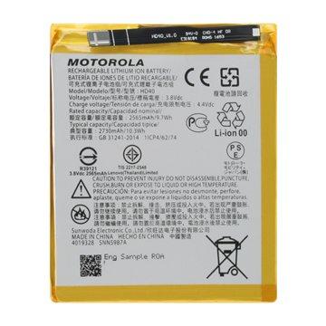 باتری اورجینال موتورولا موتو زد 2 فورس مدل HD40 ظرفیت 2730 میلی آمپر ساعت-1