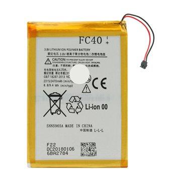 باتری اورجینال موتورولا FC40 ظرفیت 2470 میلی آمپر ساعت-1