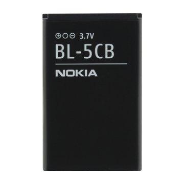 باتری اورجینال نوکیا BL-5CB ظرفیت 800 میلی آمپر ساعت-1