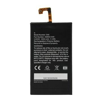 باتری اورجینال کاترپیلار S40 مدل 458002 ظرفیت 3000 میلی آمپر ساعت-1