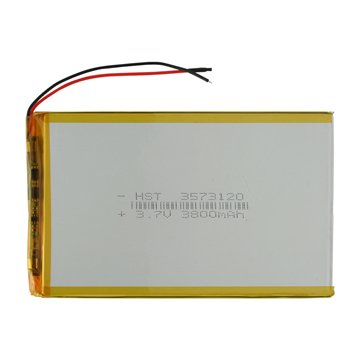 باتری تبلت 3.7 ولت مدل 3573120 ظرفیت 3800 میلی آمپر ساعت -1