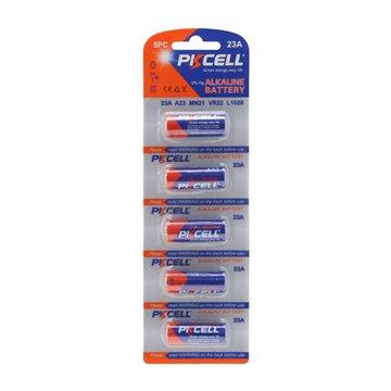 باتری ریموت کنترل 12 ولت پیکاسل مدل 23A بسته 5 عددی-1