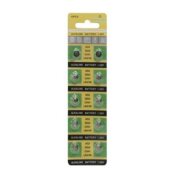 باتری سکه ای جین لیدا مدل AG3 بسته 10 عددی - 1
