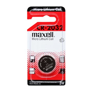 باتری سکه ای مکسل مدل CR2032 - 1