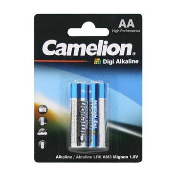 باتری قلمی کملیون مدل Digi Alkaline LR6 بسته 2 عددی - 1