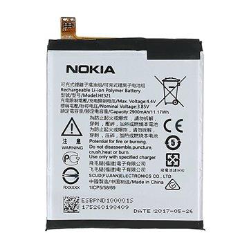باتری نوکیا 5 مدل HE321 ظرفیت 2900 میلی آمپر ساعت - 1