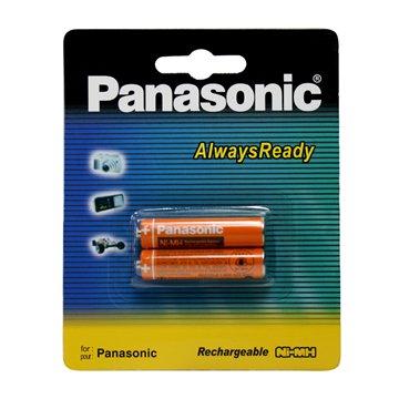 باتری نیم قلمی قابل شارژ پاناسونیک مدل HHR-3MRT/2BM بسته 2 عددی - 1