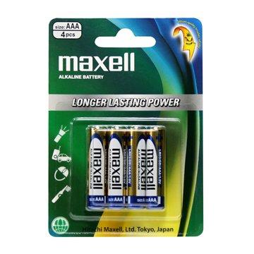باتری نیم قلمی مکسل مدل LR03 بسته 4 عددی - 1