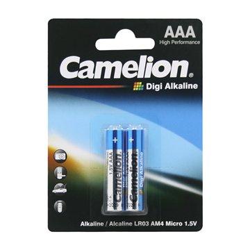 باتری نیم قلمی کملیون مدل Digi Alkaline LR03 بسته 2 عددی - 1
