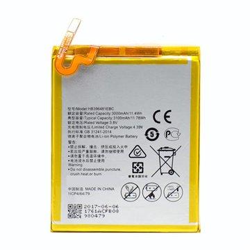 باتری هواوی G8 مدل HB396481EBC ظرفیت 3100 میلی آمپر ساعت - 1