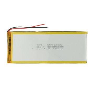 باتری 3.7 ولت مدل 3555135 ظرفیت 3000 میلی آمپر ساعت -1