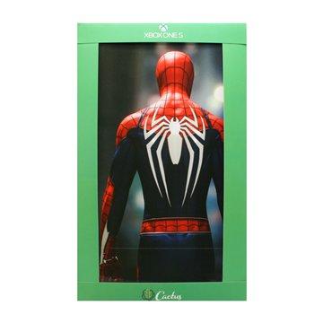 برچسب ایکس باکس وان اس کاکتوس طرح مرد عنکبوتی عمودی - 1