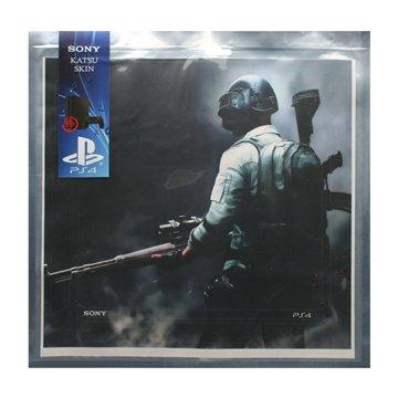 برچسب PS4 اسلیم سونی طرح پابجی افقی - 1
