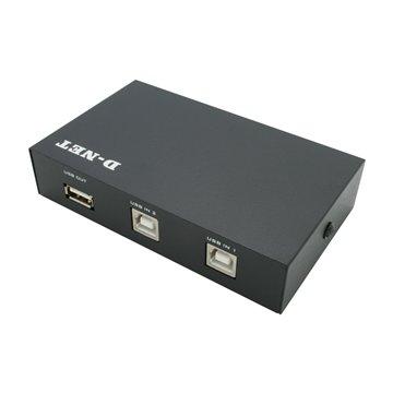 دیتا سوئیچ دو پورت USB دی نت - 1