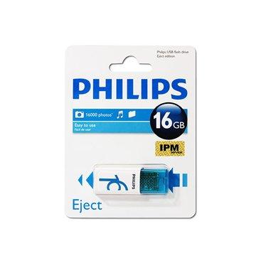 فلش مموری فیلیپس مدل Eject ظرفیت 16 گیگابایت - 1