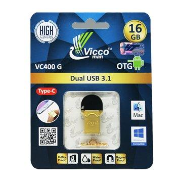 فلش مموری OTG ویکومن مدل VC400 ظرفیت 16 گیگابایت - 1