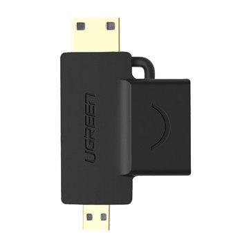 مبدل HDMI به Mini HDMI و micro HDMI یوگرین مدل 20144 - 1