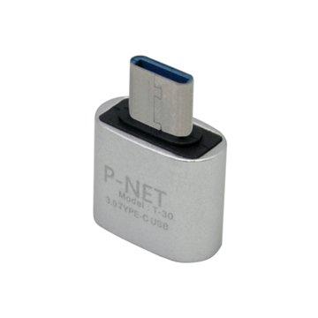 مبدل USB 3.0 به Type-C پی نت مدل T40 - 1
