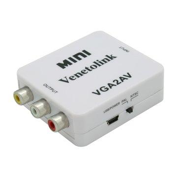 مبدل VGA به AV ونتولینک مدل Mini-1
