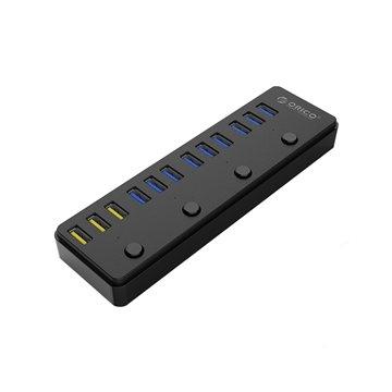 هاب 12 پورت USB 3.0 اوریکو مدل P12-U3 - 1