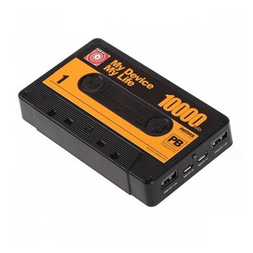 پاوربانک ریمکس مدل Tape ظرفیت 10000 میلی آمپر ساعت - 1