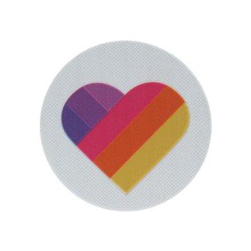 پاپ سوکت کلاسیک طرح قلب رنگی
