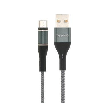 کابل تبدیل USB به Type-C / MicroUSB / لایتنینگ ترانیو مدل XS4 طول 1 متر