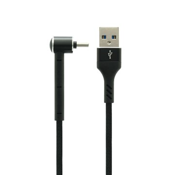 کابل تبدیل USB به Type-C / MicroUSB / لایتنینگ تسکو مدل TC A100 طول 1.2 متر - 1