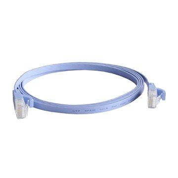 کابل شبکه فلت هویت مدل HV-CAT6 طول 3 متر - 1