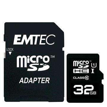 کارت حافظه Micro SDHC امتک مدل GOLD استاندارد UHS-I ظرفیت 32 گیگابایت کلاس 10 با آداپتور - 1