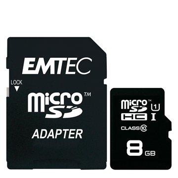 کارت حافظه  Micro SDHC امتک مدل GOLD استاندارد UHS-I ظرفیت 8 گیگابایت کلاس 10 با آداپتور - 1