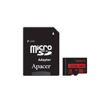 کارت حافظه micro SDHC اپیسر استاندارد UHS-I ظرفیت 32 گیگابایت کلاس 10 با آداپتور - 1