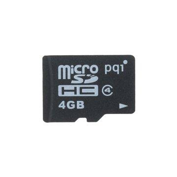 کارت حافظه Micro SDHC پی کیو آی ظرفیت 4 گیگابایت کلاس 4 - 1