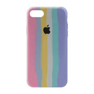 کاور TPU سیلیکونی پروتیا مدل اپل آیفون 7 / 8 طرح رنگین کمان Cold