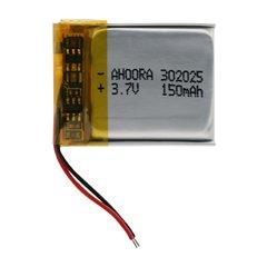 باتری 3.7 ولت مدل 302025 ظرفیت 150 میلی آمپر ساعت -1