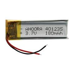 باتری 3.7 ولت اورجینال مدل 401235 ظرفیت 180 میلی آمپر ساعت-1